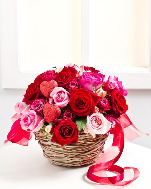 Valentine's Day Flower Arrangement
